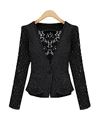 Women's Suits & Blazers , Lace Casual/Work Jushang