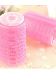 2Pcs Double Self-Adhesive Hair Volume The Volume Button Pear Volume Bangs Curlers