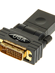 HDMI femelle DVI24 5 adaptateur mâle