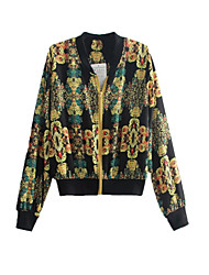 Women's Gold Jackets , Vintage Long Sleeve