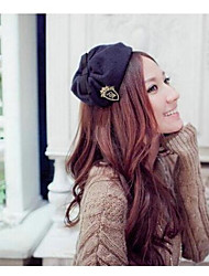 moda ricamare distintivo con il cappello bowknot fascia