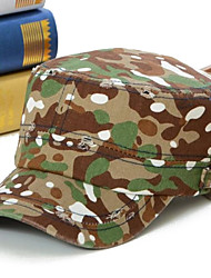 The Spring/Summer Leisure Camouflage Edge Grinding Flat Hat Both Men and Women Baseball Hat Green