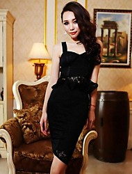 Women's Group Skirts Piece Strap Suit Skirt