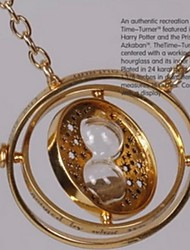 Harry Potter Time Converter Golden Alloy Cosplay Necklace