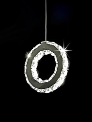 6W Modern/Contemporary Crystal Metal Pendant Lights Living Room