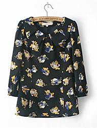 Women's Black Blouse/Shirt ½ Length Sleeve