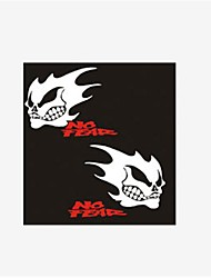 Reflective Ghost Rider Morfo Car Stickers.