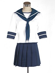 inspiré par Kantai collection Fubuki costumes de cosplay