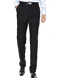 Men's Casual Fashion Trouser Suit Pants