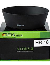 DBK visera del objetivo hb18 para nikon af-s 28-105 mm f / 3.5-4.5D si