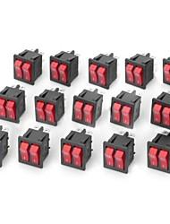 250v 20a ligués interrupteur à bascule avec LED indicateur 15 pcs