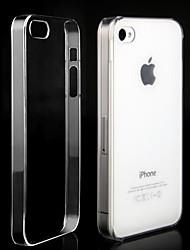 Ultra Slim tranparent Kunststoff-Case für iPhone 4 und 4S