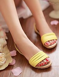Женские плоский каблук Слайд Тапочки обувь