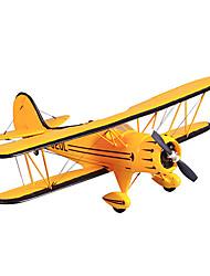 fms 1100mm Waco 4-Kanal RC Flugzeug gelb
