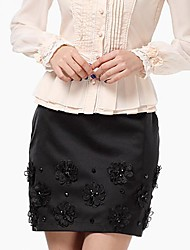 Women's Bodycon A Word Waist Package Skirt