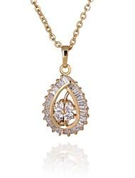Women's  Fashion Unique Design 18K Gold Plated Necklace