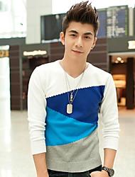 Men's Striped Pullover , Knitwear Long Sleeve