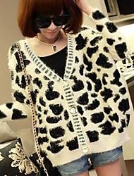 Women's The Tiger Leopard Woolly Knitting Sweater