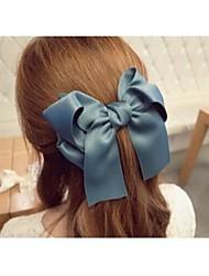 super size di seta di bowknot clip di capelli forcine tessuto