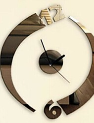 Wall Clock Stickers Wall Decals, Modern Design Mirror Acrylic Wall Stickers