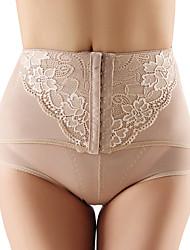 mujeres posparto pantalones cortos pantalones de la talladora del cuerpo de mediados de cintura bragas de control para adelgazar la cintura abdomen