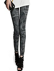 Women's Slim Denim Leggings