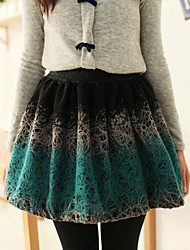 Women's Skirts , Cotton Casual
