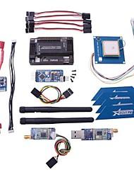 APM 2.6 controlador de vôo ardupilot + gps + 433 + 3dr minimosd + sensor de corrente