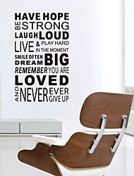 JiuBai™  Have Hope Quote Word Art Wall Sticker Wall Decal