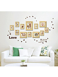 Wood Creative Fashion Picture Wall Frames, Set Of 12#sm011