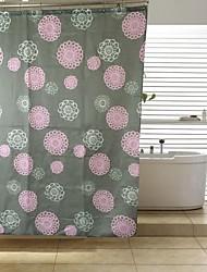 patten flor de ducha de poliéster cortina