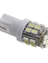 T10 3W 24x1206 SMD 80-90ML White Light LED Bulbs for Car Turn Signal Lamp(DC12V)