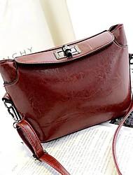 Women's Retro PU Leather Shoulder Messenger Cross Body Bag
