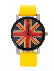 DIDA Women'S The Union Jack Print Watch