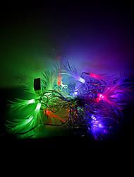 4m 20 leds Halloween Noël des lumières décoratives de fête des lumières bande-Matsuba (220v)