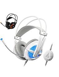 g938 usb de alta fidelidade fone de ouvido acústico jogo profissional com microfone