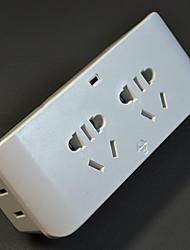 Multifunctional White Socket Converter 1 Converted 4