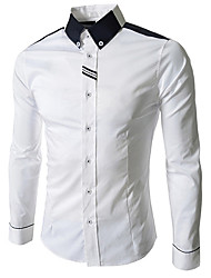 Voboom Men'S Long Sleeve Shirt