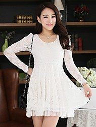 Women's Winter Lace Dress