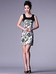 Women's Fashion Chiffon Sleeveless Dress