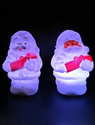 natal boneco de neve rotocast noite luz que muda de cor