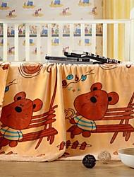 edredón shuian® patrón de dibujos animados suave mantenerse caliente raschel espesamiento niños ocio manta con patrón ratones del dibujo animado