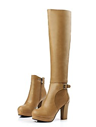 Women's Shoes Platform Chunky Heel  Knee High Boots More Colors available