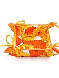 Beautiful Design Paper With Canvas Fruit Baskets (Random Colorx1pcs)