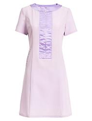 спа Униформа женщин с коротким рукавом совок шеи спа платье