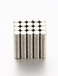 100pcs 3 x 3mm DIY Buckyballs and Buckycubes Cylinder Magnet Toys