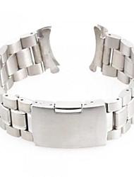 Unisex Steel Watch Band Strap 24MM (Silver)