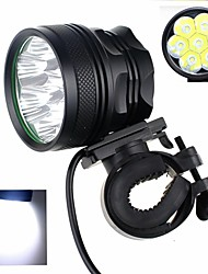 ZHISHUNJIA 7 x Cree XM-L2 U2 4000lm 3-Mode White Bicycle Headlamp (4000lm , 6x18650)
