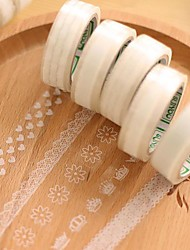 Transparent Lace Decorative Tape(Random Pattern 1 PCS)
