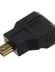 High Speed Mini HDMI V1.4 Female to Micro HDMI V1.4 Female Adapter